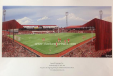Middlesbrough Farewell 'Ayresome Park' A3 FRAMED print